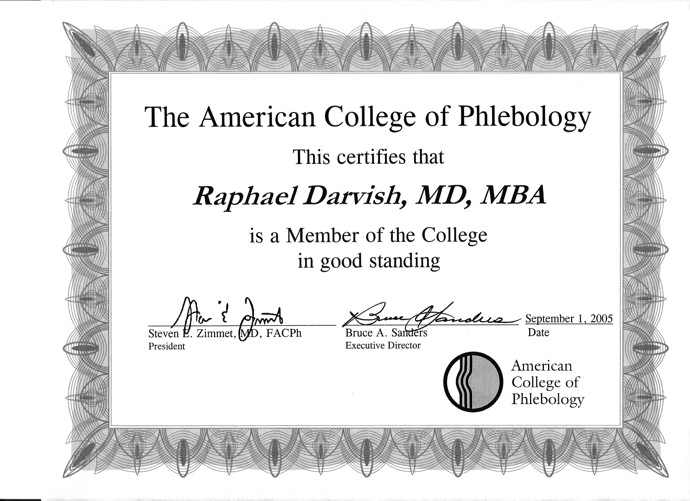 Am board of phlebology certificate skinpeccable am board of phlebology certificate 1betcityfo Image collections