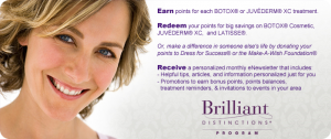 Botox and Juvederm Rewards Program at Skinpeccable
