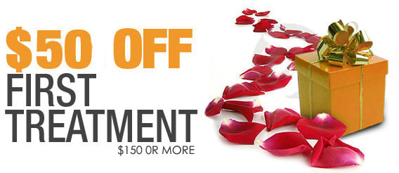 $50 Off on the First Treatment